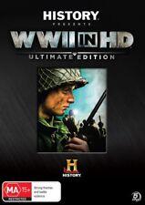 WWII Lost Films - WWII In HD (DVD, 2012, 5-Disc Set)