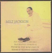 MILT JACKSON    CD US PROMO BURNIN IN THE WOODHOUSE