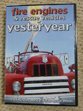 FIRE ENGINES & RESCUE VEHICLES OF YESTERYEAR DVD - BRAND NEW - SEALED