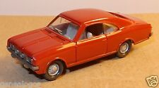 RARE MICRO WIKING HO 1/87 OPEL COMMODORE ROUGE GRENAT intérieur GRIS volant 8C