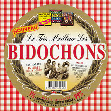 """CD ALBUM LES BIDOCHONS  """"LE TRES MEILLEUR DES BIDOCHONS"""""""