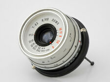 Old Soviet lens Triplet T-43 LOMO Smena-8M,silver