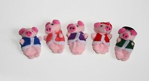 This Little Piggy Piglet finger puppets, Story telling Nursery Rhymes Fairy tale