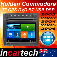 Holden Commodore VY VZ GPS Sat Nav Bluetooth Radio Stereo DVD Factory fit 2Din