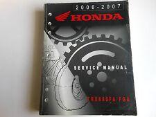 Honda Service Manual 2006-2007 TRX680FA / FGA TRX 680 # 61HN850