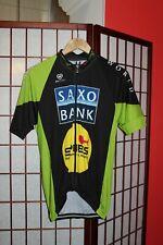Saxo Bank Pissei world cycling jersey size 5 .ALY