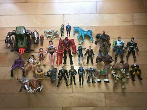 Mixed Lot of Vintage Action Figure Toys Max Steel Phantom Spawn Star Trek