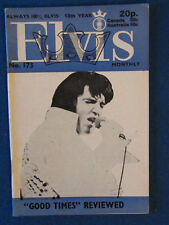 Elvis Presley - Elvis Monthly Magazine - 15th Year - Issue 173 - June 1974