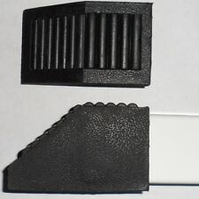 4 ea PVC External End Covers for 2 x 2 Square Tubing - 50 Degree Offset End