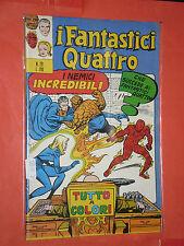 FANTASTICI QUATTRO-4 -N° 29- prima SERIE 1°- DEL 1972 -EDIZIONI CORNO- usato