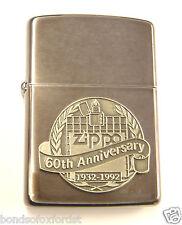 COTY 1992 - Zippo's 60th Anniversary Lighter NEW