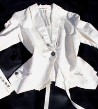 SUPERBE VESTE IVOIRE WITH LOVE FROM MARITHE FRANCOIS GIRBAUD T.40 FR ( I 44)