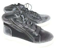 Mossimo Supply Co. New Women's Sara High Top Velvet Sneakers Gray Size 6.5 New