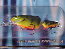 "Salmo 2"" Frisky Jointed New for 2011 Color Real Hot Perch for Bass/Walleye Lure"