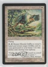 1996 Magic: The Gathering - Mirage Booster Pack Base NoN Mtenda Griffin Card 0a1