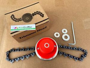 Testina a catena catene universale rotante per decespugliatore tagliaerba rovi