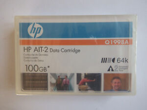 HP AIT2/AIT-2 Data Tape/Cartridge 50/100GB Q1998A 64k MIC NEW