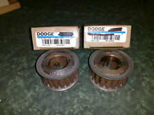 (2) NEW Dodge TL20L100 Synchronous Timing Pulleys (Light Rust) (41478-I2)