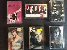 Pop 1980s Music Cassettes