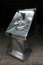 ALLOY WHEEL BW-PRO-SPRAY fully stainless steel portable spray booth £1450 +VAT