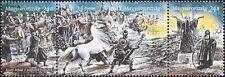 Hungary 1996 Horses/Military/Army/Transport/Animals/History 3v s-t strp (s2706a)