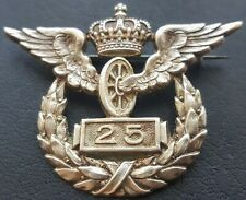 ✚9308✚ German Prussian WW1 Decoration for 25 Years' Railway Service Badge Wagner