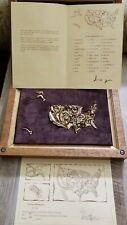 Fauna Americana by Logi Bronze puzzle United States Of America #13/500 223 grams