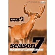 Deer & Deer Hunting Television Season 7, DVD, 2012, New, Thin Case, 11 Episodes