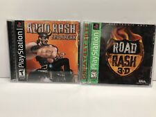 Road Rash Jailbreak & 3D (Sony PlayStation 1) Both Complete With Instructions