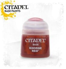 Citadel Paint - Warhammer - Base Khorne Red  - 21-04