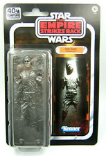 "Star Wars Black Series 6"" Inch 40th Anniversary Han Solo Carbonite"