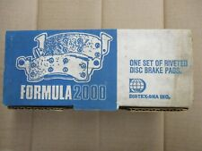 BRAND NEW FORMULA 2000 FRONT BRAKE PADS D153 FITS VEHICLES LISTED ON CHART