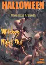 HALLOWEEN WITCHES NIGHT OUT 70 FINE VINTAGE WITCHY PINUPS & NUDES PHOTO CD-ROM %