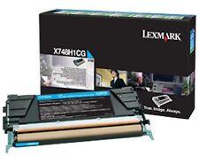 ORIGINAL Lexmark Cartouche d'encre X748H3CG X748H1CG Cyan 12.000 pages X748 NEUF
