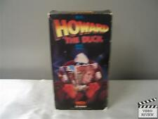 Howard the Duck (VHS, 1986) Lea Thompson Jeffrey Jones Tim Robbins; Good