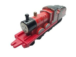ERTL Thomas Tank Engine & Friends Train - JAMES - STICKER FACE Diecast  The last
