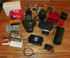 35mm Film Camera & Lens Lot - Minolta, Konica, Tokina, Sigma & Much More !!