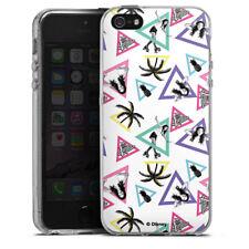 Apple iPhone 5s Silikon Hülle Case - Soy Luna Dreiecke