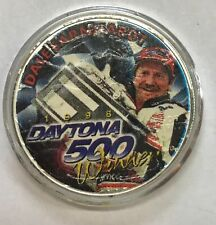 **DAYTONA** DALE EARNHARDT -1 Ounce American Silver Eagle - Uncirculated  #1318