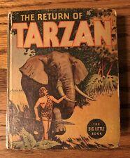 The Return of Tarzan, Big/ Better Little Book # 1102, 1936 Very Good!