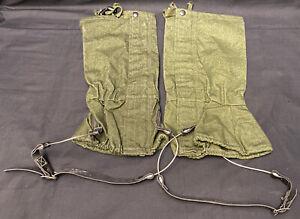 British Military Olive Green Waterproof Heavy Duty Leg Gaiters