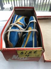 Vintage Nos Nike Running Waffle Shoes 1980's Made In Korea With Box Sz 4