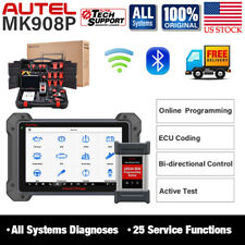 Autel MK908P Car All System OBD2 Scanner Scan Tablet Diagnostic Tool Programming