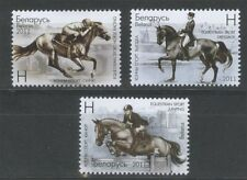 2011. Belarus. Equestrian Sport. Set. MNH
