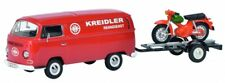 1/43 SCHUCO VW t2a Kreidler-service avec moto remorque et Kreidler Fleuret