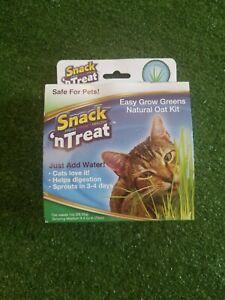 Imperial Cat Kitten Pet Easy Grow Oat Grass Kit Healthy Digestion