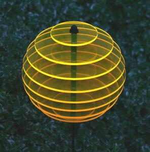 KUGEL Sonnengelb Ø15cm  Sonnenfänger Sonnenscheiben Leuchtscheibe Dekoration