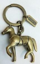 COACH Vintage Brass key holder