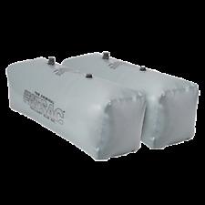 FATSAC V-drive Fat Sacs - Pair - 400lbs Each - Gray W701-GRAY