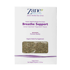 ZANE HELLAS Finest Herbal Teas.Breathe Support. Ideal for Congestion,Cold Season